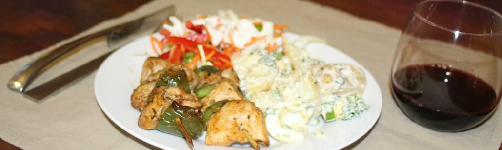 Chicken Skewers Healthy Delivered Meals